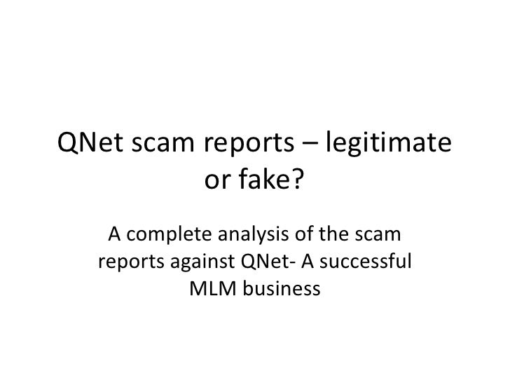 QNnet - legit or scam?