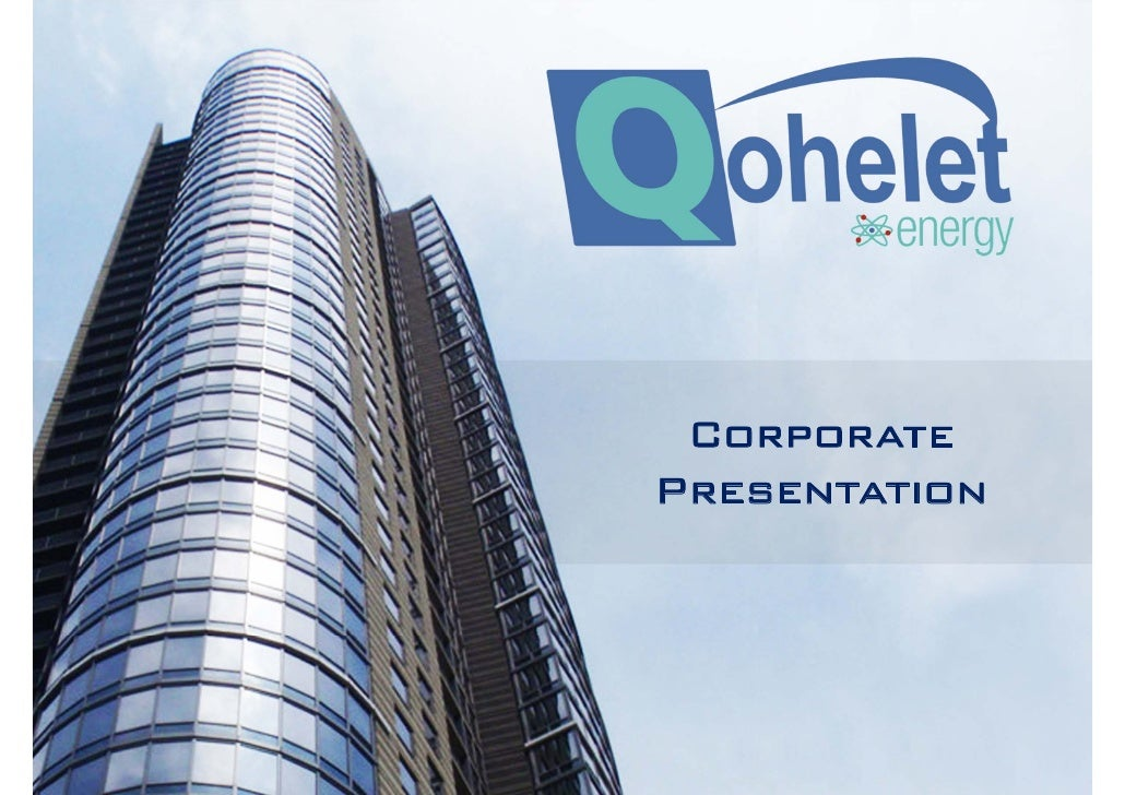 Qohelet Energy Group