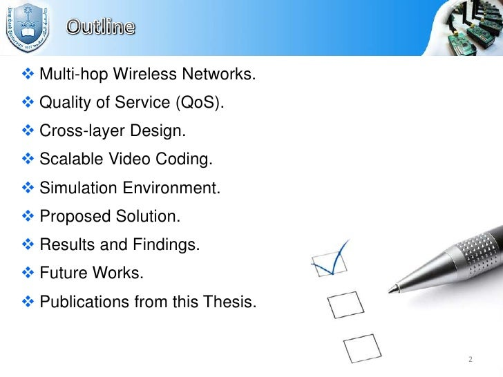 master thesis wireless networking Thesis topics for master's and phd in information & communication technologies and social networking a master thesis in the filed of wireless communication.