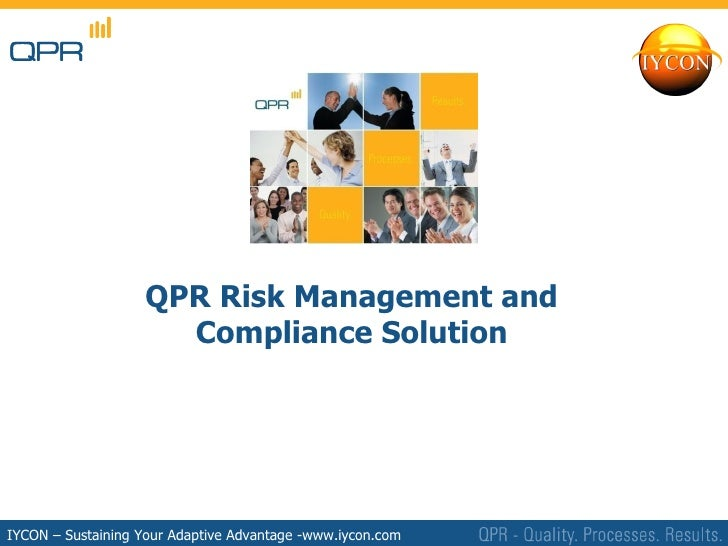 Qpr 8 Risk Management And Compliance Solution