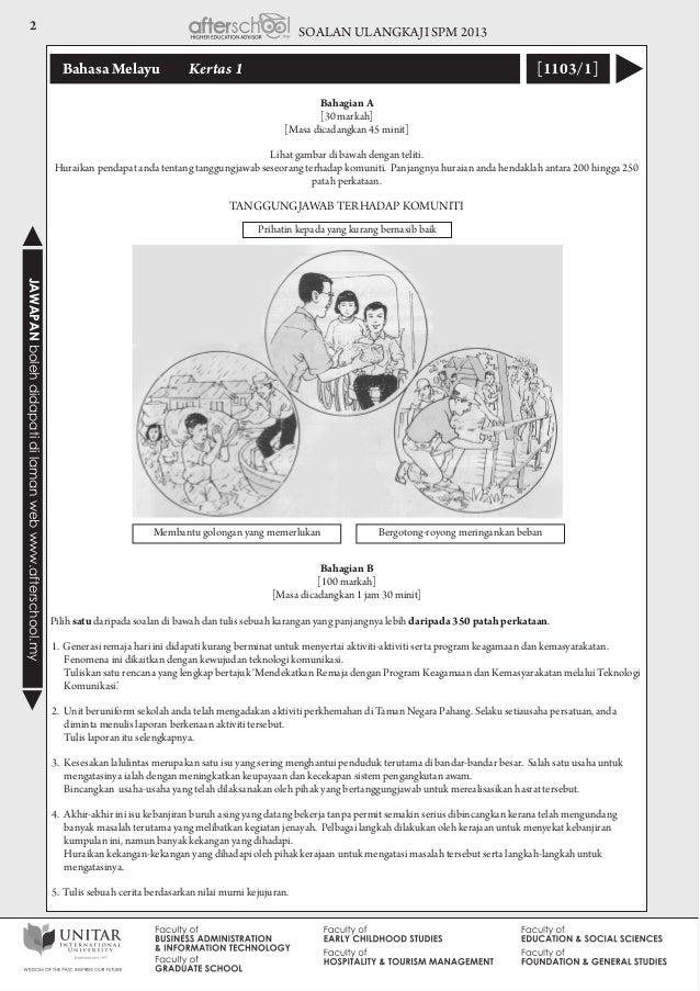 bahasa malaysia essay
