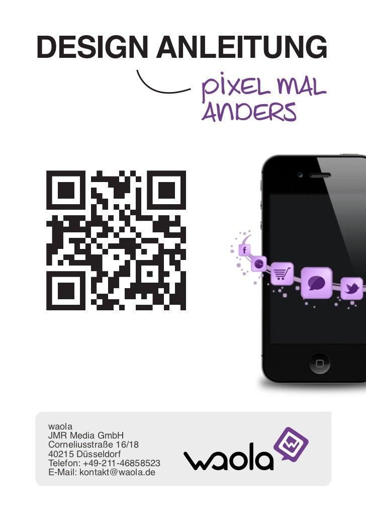 QR-Code-Design: Photoshop-Anleitung individuelle Pixel