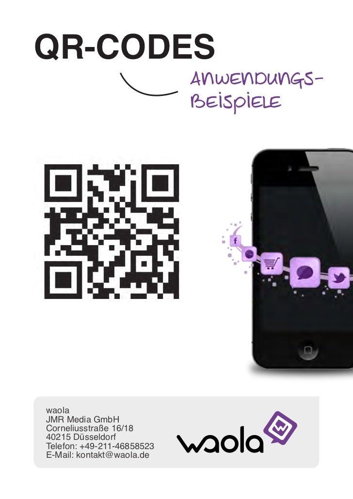 QR-Code Anwendungsbeispiele by waola