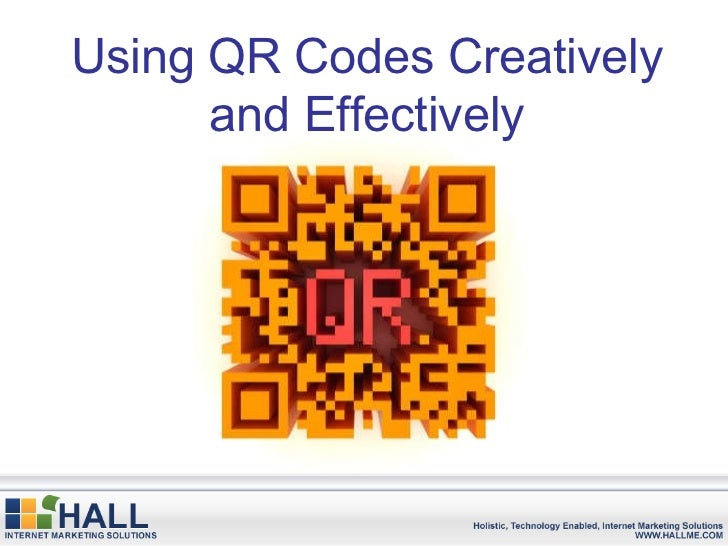 Using QR Codes Creatively and Effectively