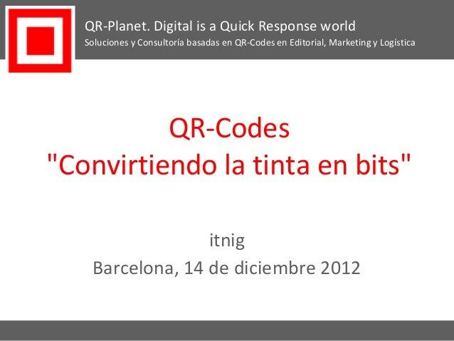 QR-Codes 101 - Convirtiendo la tinta en bits