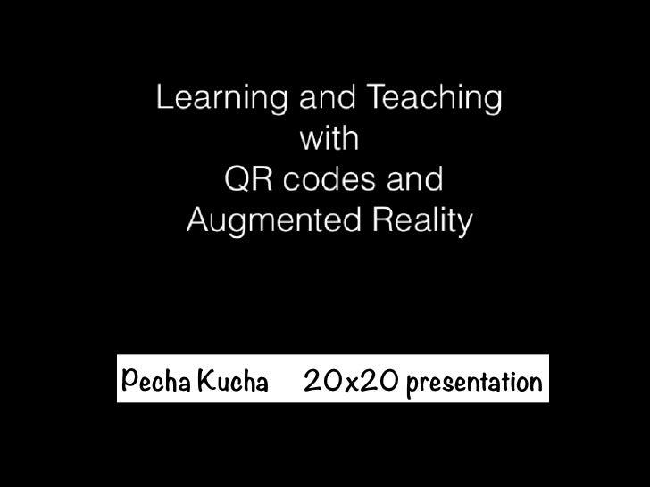 Pecha Kucha   20x20 presentation