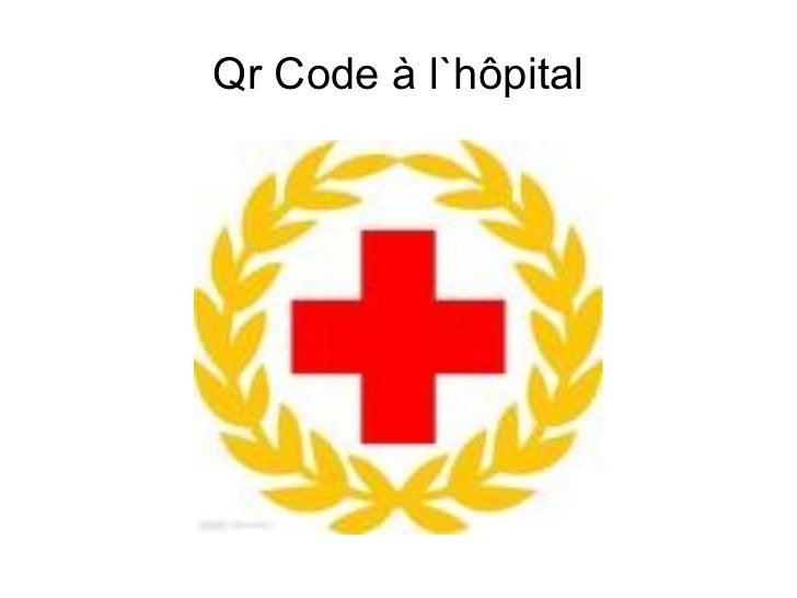 Qr Code à l`hôpital
