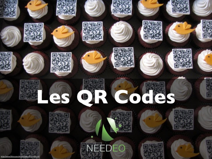 Les QR Codeswww.needeo.comhttp://www.flickr.com/photos/gaku/4510428194