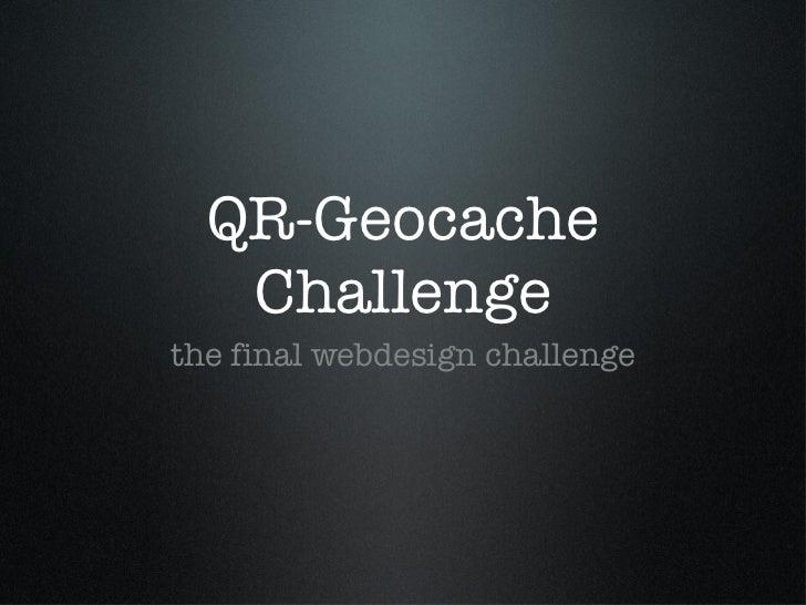 Q rcode geocache