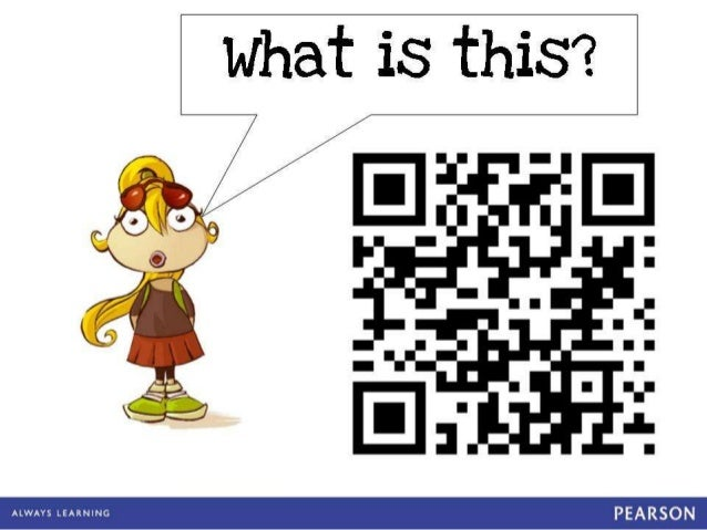 QR code workshop for children.