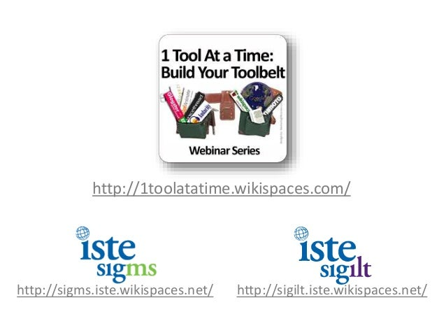 1 Tool at A Time Webinar - Topic: QR Codes