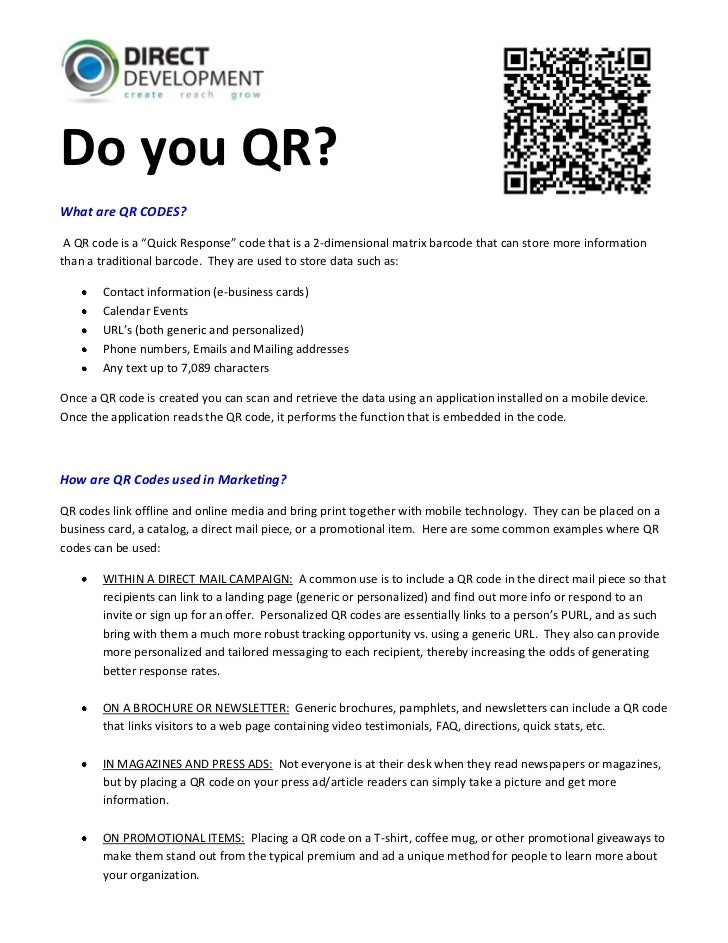 "-9085-1266104555880-225084<br />Do you QR?<br />What are QR CODES?<br /> A QR code is a ""Quick Response"" code that is a 2-..."