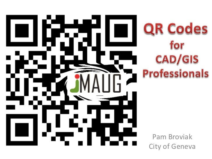 QR Codes for CAD/GIS Professionals
