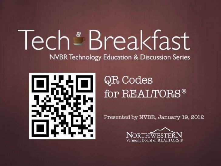 QR Codes for REALTORS®