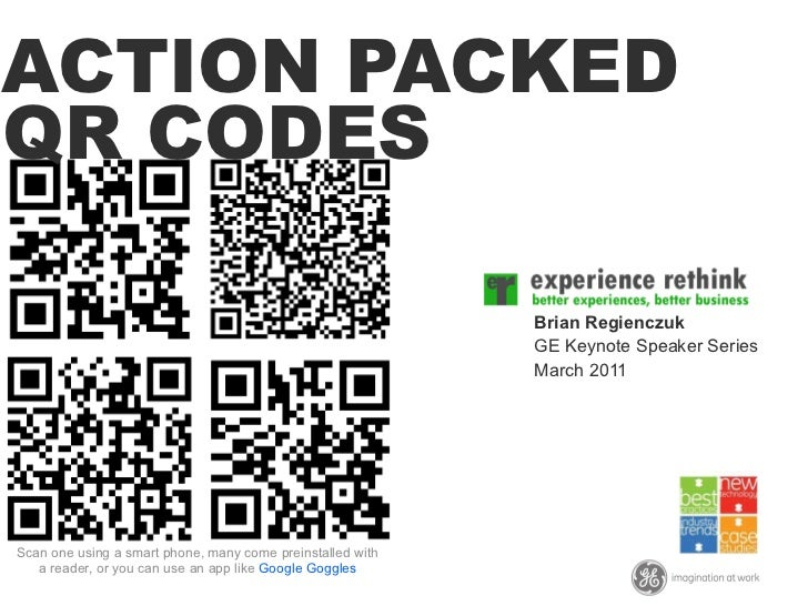 Action Packed QR Codes