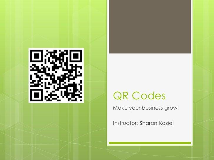 Qr codes final