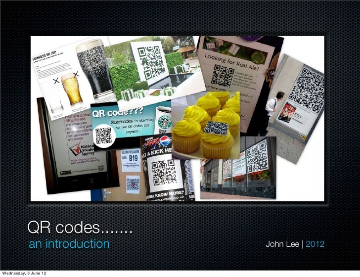 Qr Codes Intro