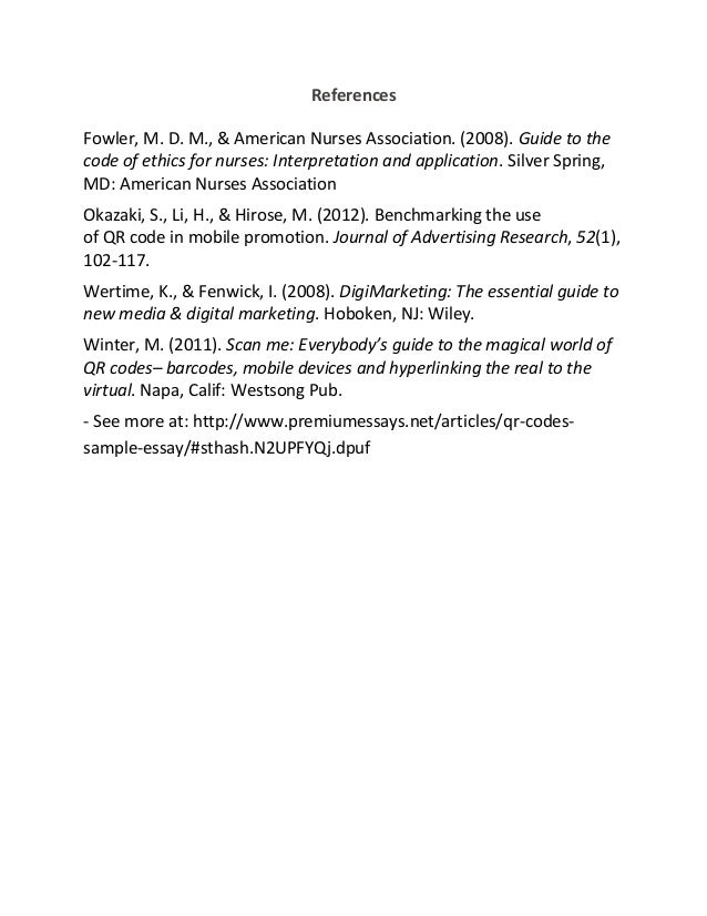 the code of ethics of mcdonaldís essay Social cause marketing sept-09 - download as pdf file (pdf), text file (txt) or read online scribd is the world's largest social reading and publishing site search search.