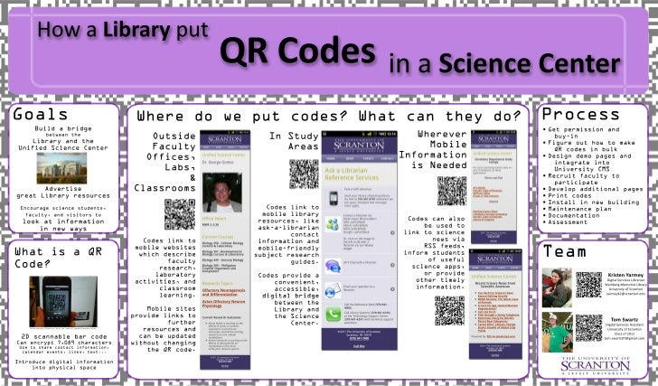 How a Library put QR Codes in a Science Center