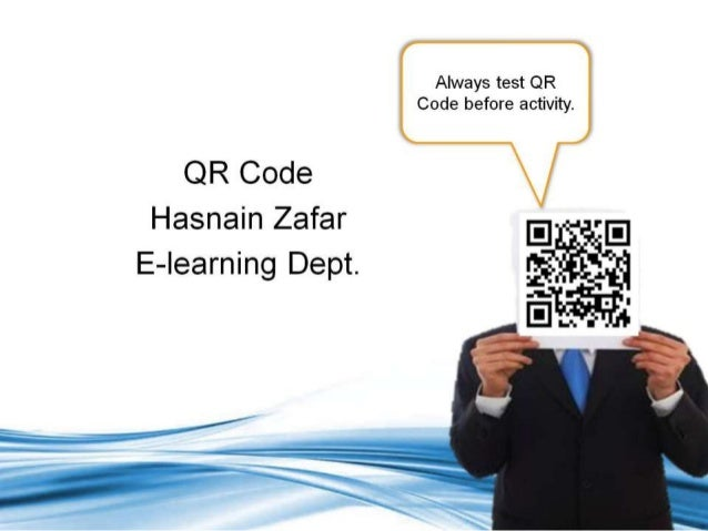 QR codes for Teaching and Learning