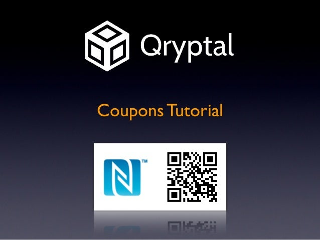 Qryptal Coupons Intro Tutorial