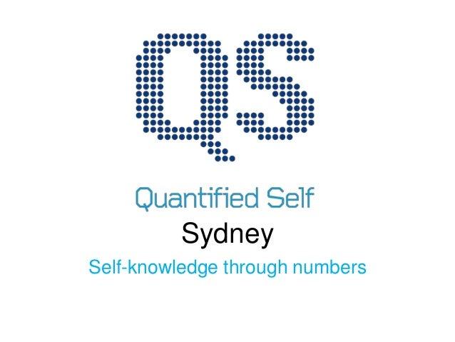 Sydney Self-knowledge through numbers