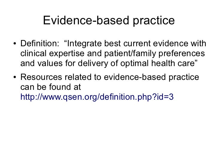 evidence based practice and its benefits 1 evidence-based policing: the basics study guide  by the matrix demonstration project team, center for evidence-based crime policy, george mason university.