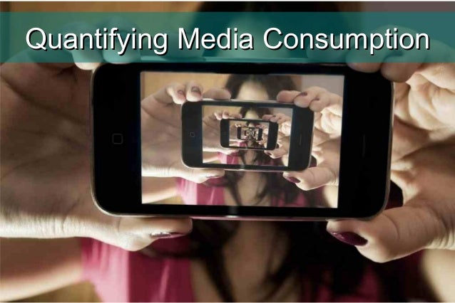 Media consuption for Quantified Self Europe 2014