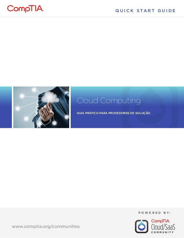 Cloud Computing: Guia Prático para Provedores de Solução