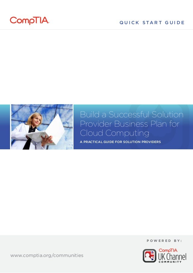 Cloud business plan