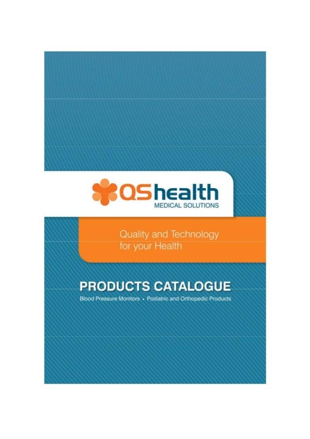 Qs health product catalogue