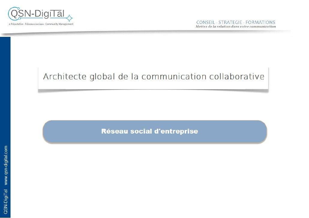 QSN-DigiTal presente sa solution de reseau social d'entreprise