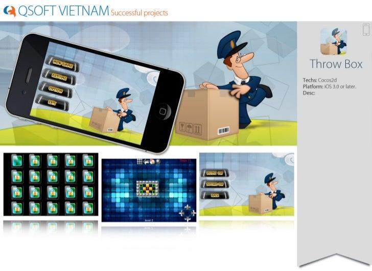 Qsoft Vietnam Portfolio Game Cocos2d development, Unity 3D
