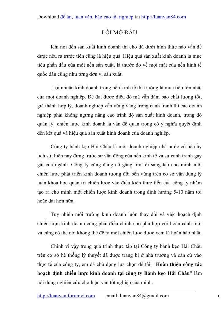 Download đề án, luận văn, báo cáo tốt nghiệp tại http://luanvan84.com                              LỜI MỞ ĐẦU      Khi nói...