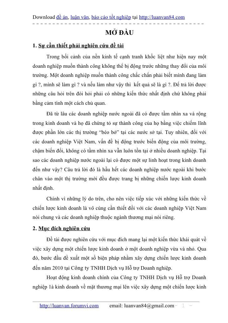 Download đề án, luận văn, báo cáo tốt nghiệp tại http://luanvan84.com                                 MỞ ĐẦU1. Sự cần thiế...