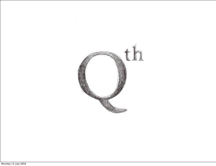 Qth - quality thinking
