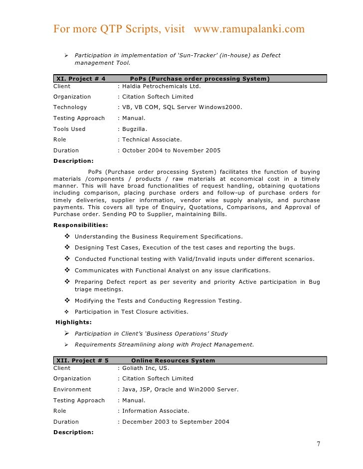 ... QA Tester Resume Sample. Breakupus Picturesque Resume Com Samples  Template With Exciting