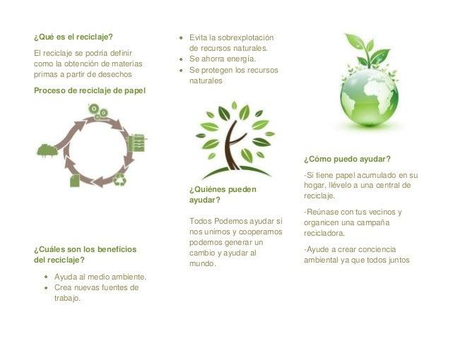 Ejemplos De Reciclaje
