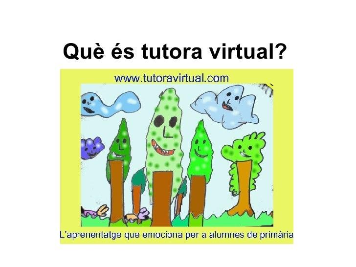 Què éS Tutora Virtual1