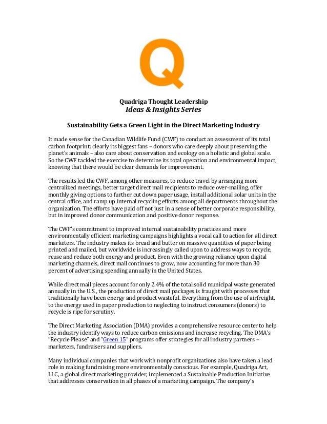 Quadriga Art | Quadriga Art New Whitepaper | Sustainability Whitepaper