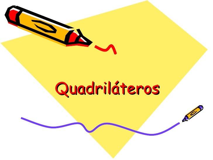Quadriláteros