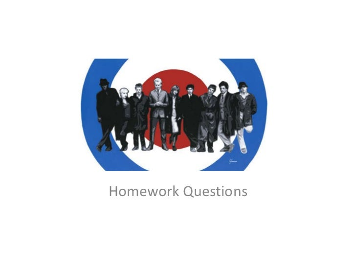 Quadrophenia Homework Questions