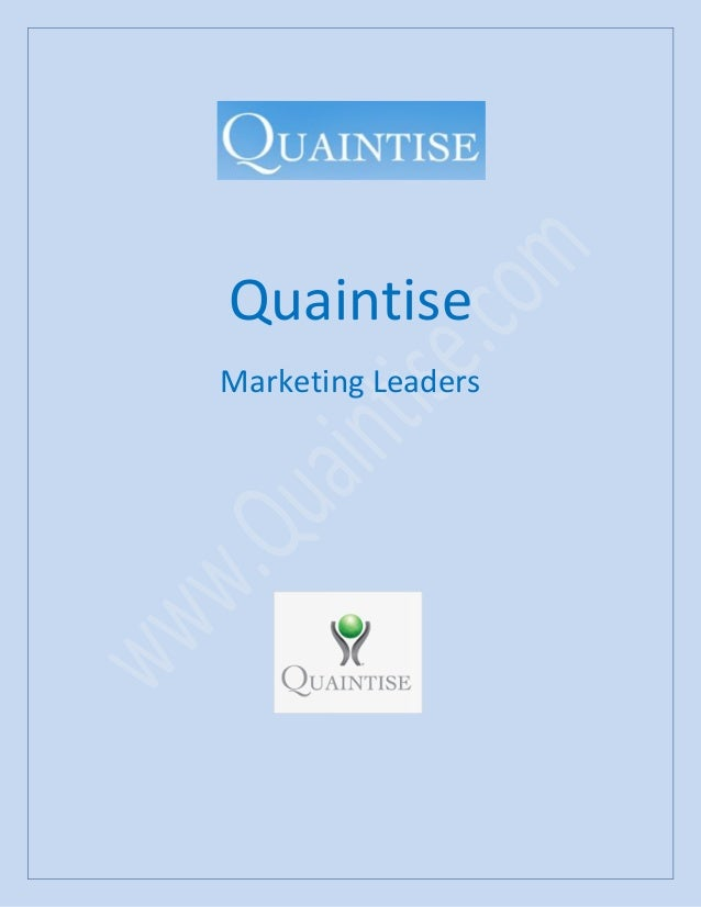 Quaintise Marketing Leaders