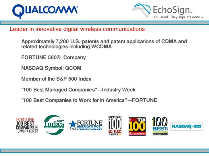 <ul><li>Approximately 7,200 U.S. patents and patent applications of CDMA and related technologies including WCDMA </li></u...
