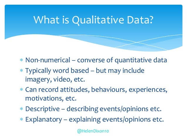 how to present qualitative data in a dissertation