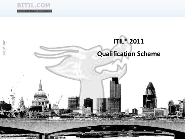 Qualification Scheme ITIL 2011