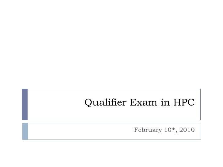 Qualifier