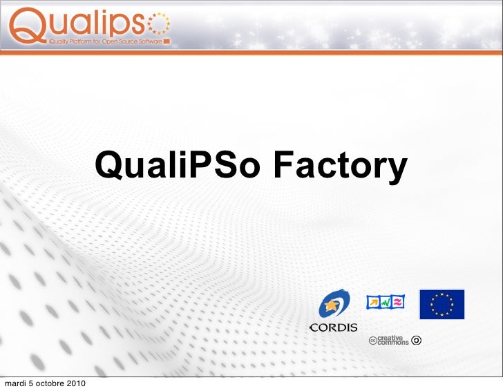Qualipso factory