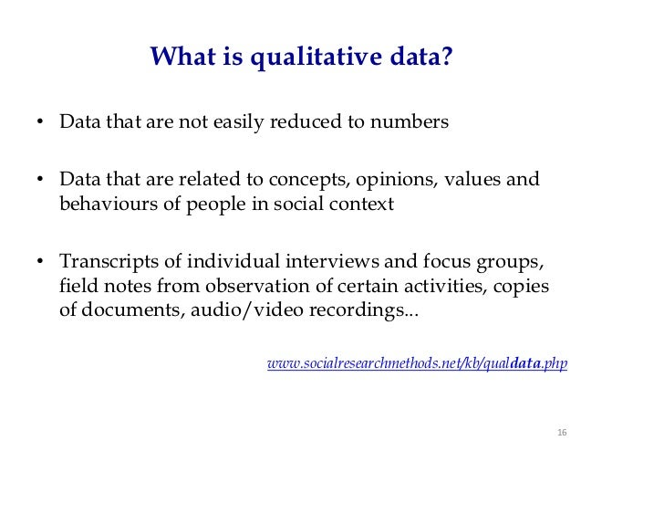 Qualitative research for dummies