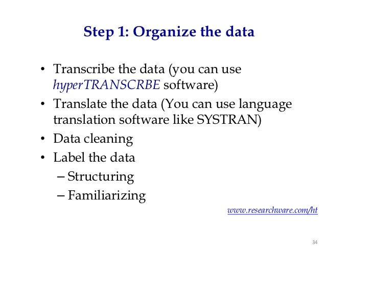 What statistical analysis do I need to use?